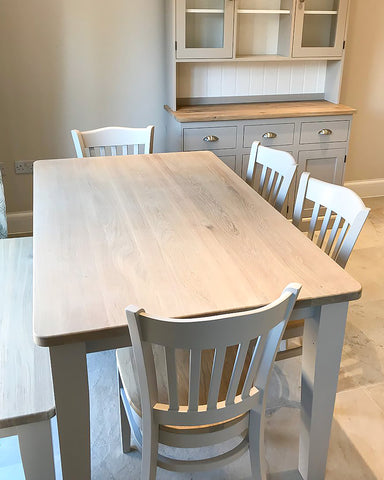 Stamford Dining Set with Bench