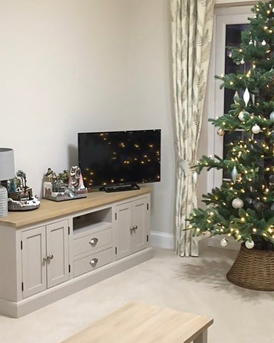 Bertie TV Cabinet with Drawers