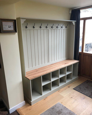 6ft Boot Room Storage Bench