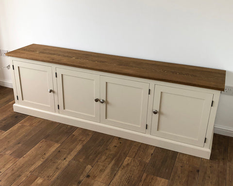 Traditional Shaker TV Cabinet