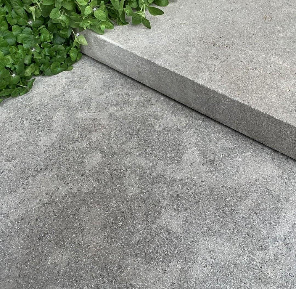 Farrow Grey Tumbled Limestone