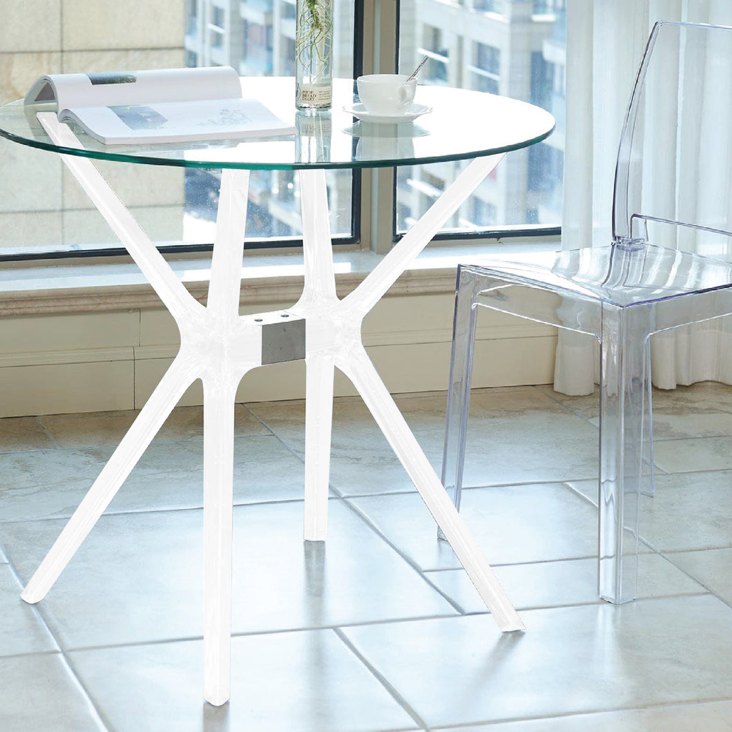 BELA Round Glass Table