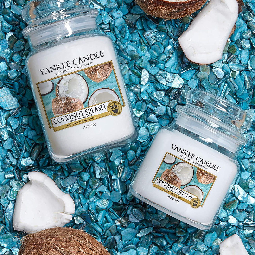 COCONUT SPLASH Candle- Classic Jar