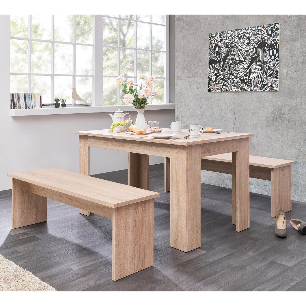 MUNICH table and bench set