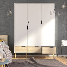 Load image into Gallery viewer, OSLO 3 Doors Wardrobe