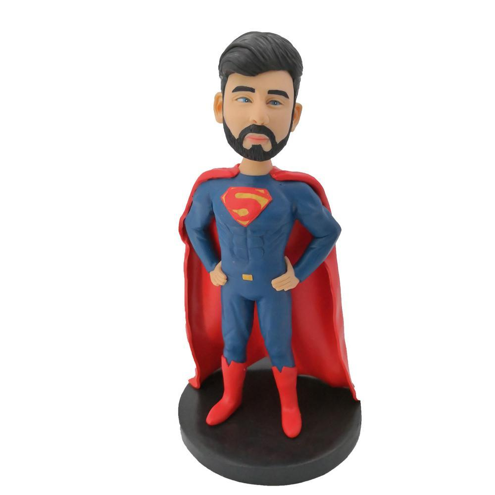 Superman Standing On The Ground Bobblehead