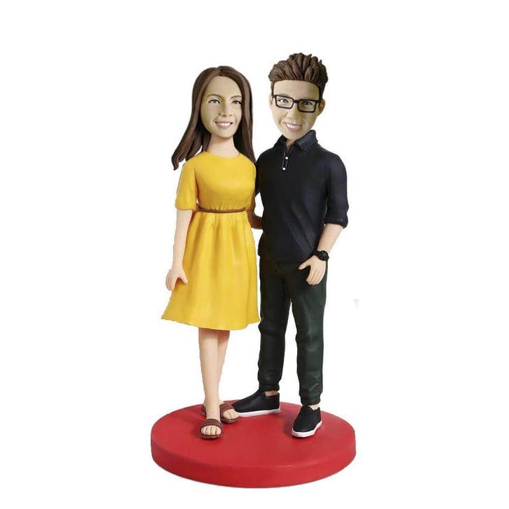 Fashion Couple Bobblehead