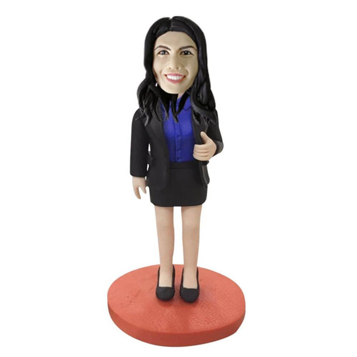 Female Executive Personalized Bobblehead