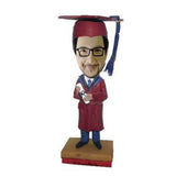 Red Gown Graduation Bobblehead
