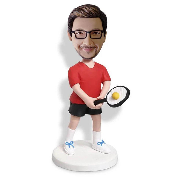 Tennis Player Bobblehead