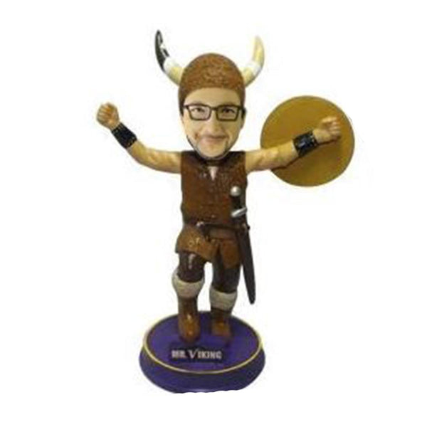 Viking Mascot Bobble Head