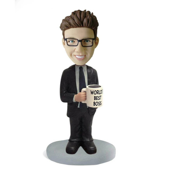 World' s best boss Bobblehead