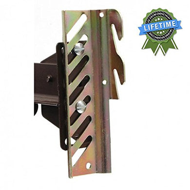 #69 Down Hook Bolt-On to Hook-On Conversion Bracket for Headboard or Footboard Attachment