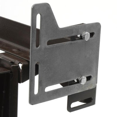 Bed Claw Queen Bed Modification Plate, Headboard Attachment Bracket, Set of 2