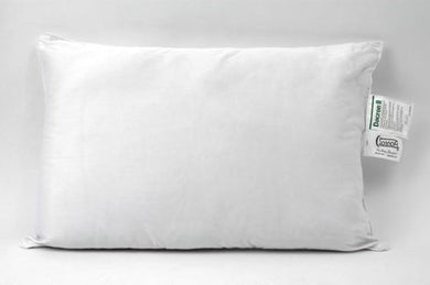 SonnoRx Premium DuPont Hollofil II Plush Easy Care Pillow, Queen Size, Set of 2
