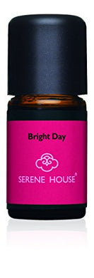 Serene House Essential Oils, Aromatherapy Diffuser Scents, 5ml Bottle (Bright Day)