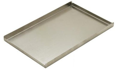 Fineline Oil Pan, Stainless Steel, 236 x 146 x 15mm