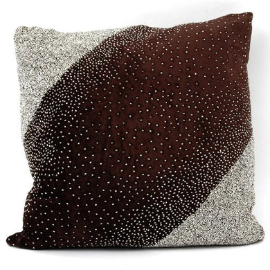 Soft Chocolate Accent Pillow, by Cloud9 Design