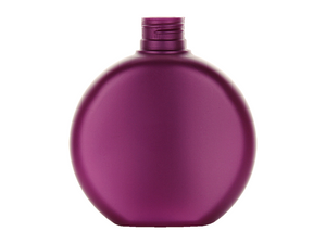 6 oz. Pearl Opaque Plastic Bottle + Lock-Up Pump | Set of 12 (Magenta)