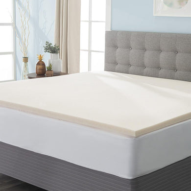 Wallace Flynn Copper-Infused Memory Foam Mattress Topper