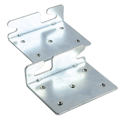Bed Claw Angled Retro-Hook Plates, Set of 2 with Hardware, Restore Wooden Bed Frame Side Rails