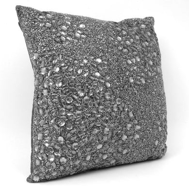 Sparkle Gray Accent Pillow, byCloud9 Design