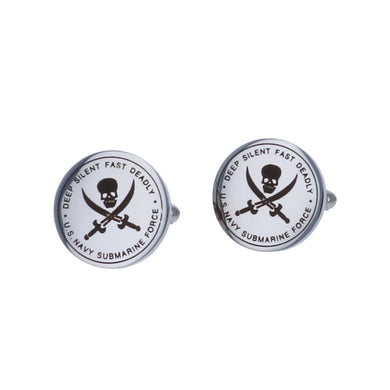 Submariner Silent Service Designer Cuff Links
