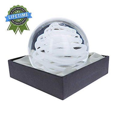 Dynasty Gallery - Glass Large Paperweight - Hurrican Glow, Christmas Gift