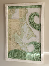 Load image into Gallery viewer, XL Plymouth/Duxbury Massachusetts Nautical Chart