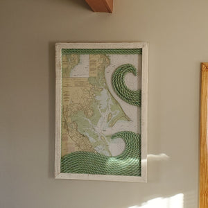 XL Plymouth/Duxbury Massachusetts Nautical Chart