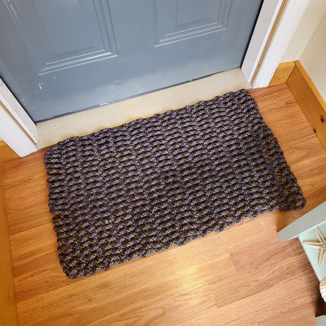 Recycled Climbing Rope Doormat