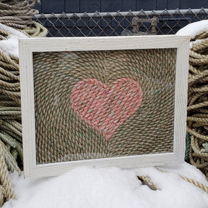 16x20in Nautical Heart