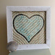 Load image into Gallery viewer, 12x12in Nautical Heart