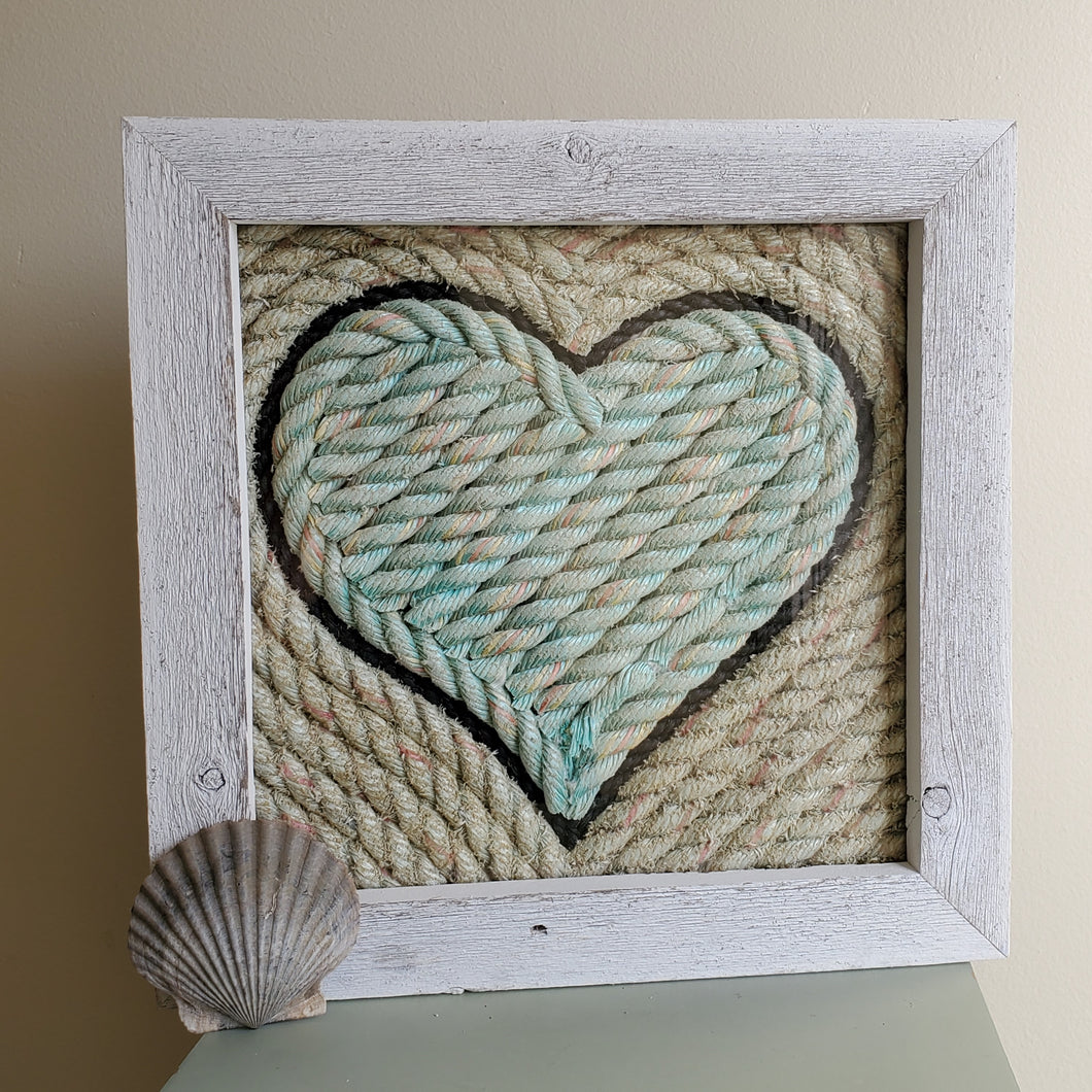 12x12in Nautical Heart