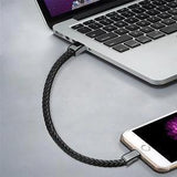 Outdoor Portable Leather Mini Micro USB Bracelet Charger Data