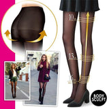 Thick Tights Flawless Legs Fake Translucent Warm Fleece Pantyhose