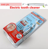 New Electric Sonic Tooth Stain Eraser Plaque Remover Dental Tool