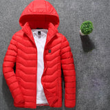 Winter Warm Heated Jacket Men Women USB Electric