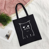 Ladies Handbags Cloth Canvas Tote Bag pattern Shopping