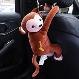 Cartoon Tissue Box Animal Monkey Car