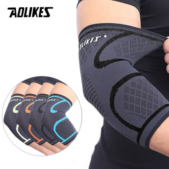 1PCS Elbow Support Elastic Gym
