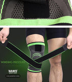1PCS 3D Pressurized Fitness Running Cycling Knee
