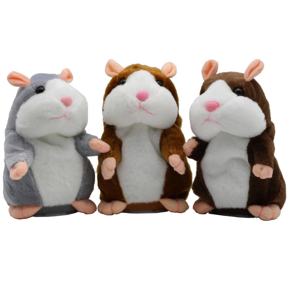 New Talking Hamster Mouse Pet Plush Toy Hot Cute