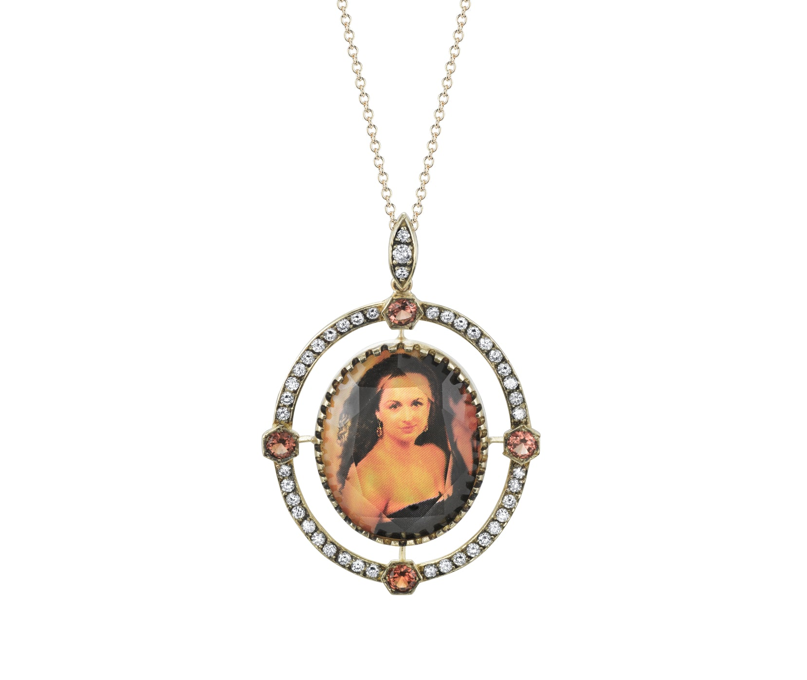 The Art behind Spencer Custom Portrait Jewelry