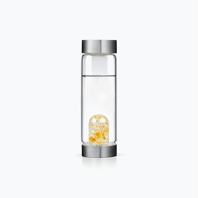 Boss Babe Exclusive Gem-Water Bottle by VitaJuwel