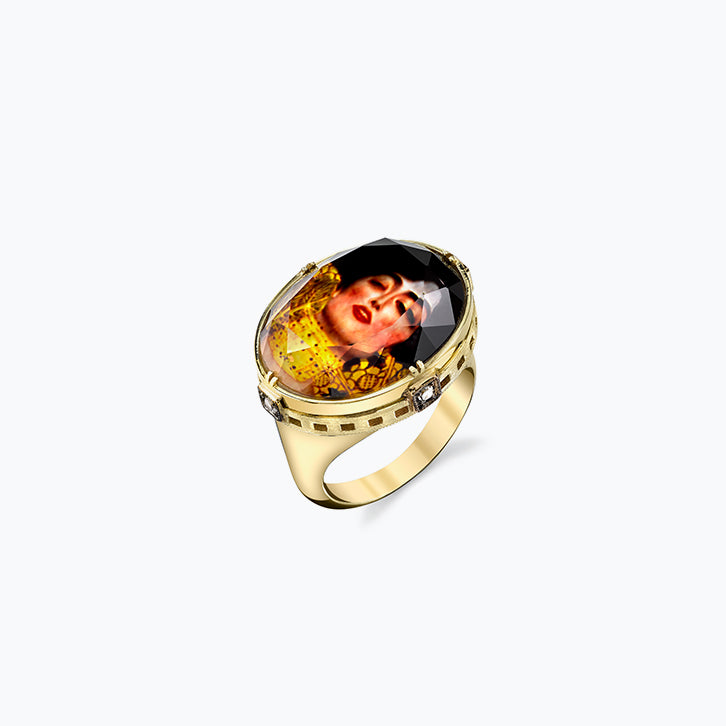 Judith II by Gustav Klimt Spencer Portrait Ring