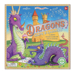 Two Purple Dragons playing a game