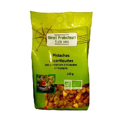 Pistaches Decortiqu. 125g