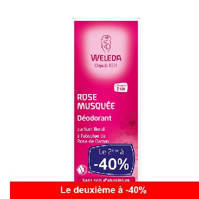 Duo Deodorant Rose 2x100 Ml Weleda