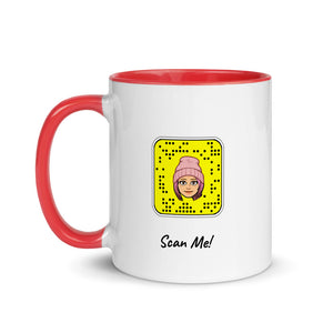 Mug with your Snapchat Snapcode